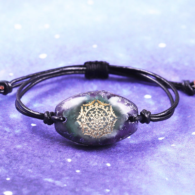 Orgonite Reiki Bracelet For Warding Off Negative Energy and Natural Healing