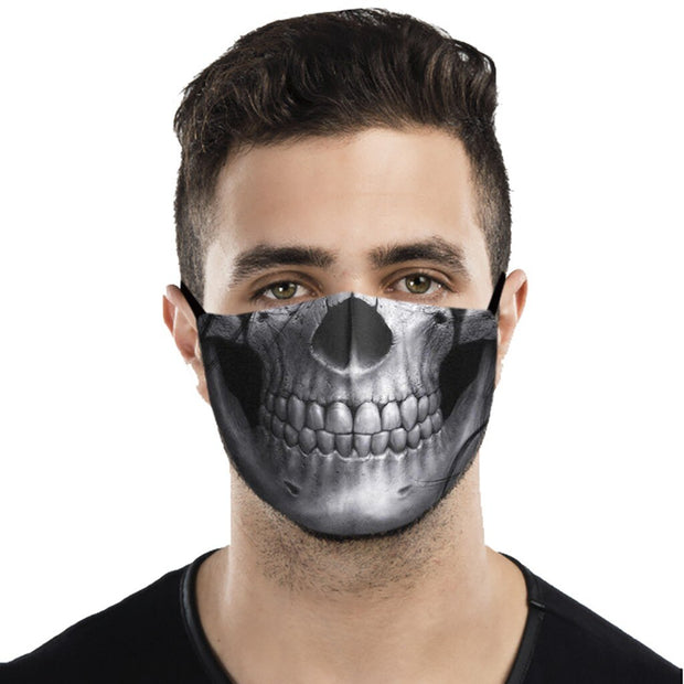 Gothic Fashion Face Cover For Adults