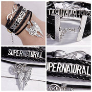 Supernatural TV Show Charm Bracelet