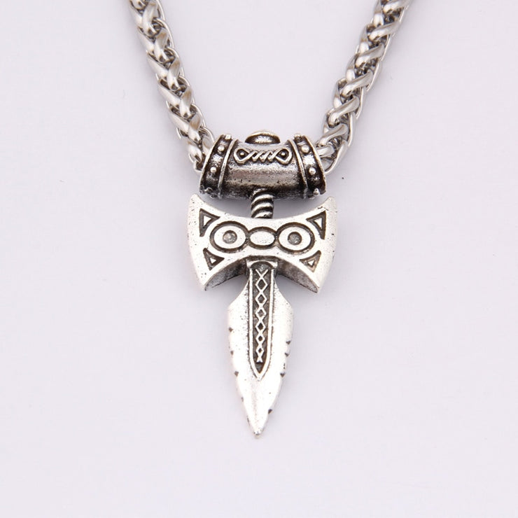 Thor's Hammer Choker Necklace