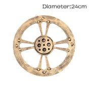 Steampunk Gear Industrial Style Wooden Wall Decoration
