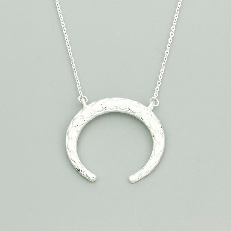New Moon Pendant Necklaces