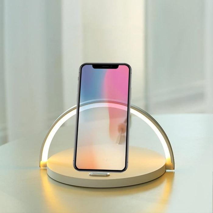 Smart LED Lamp Wireless Charger
