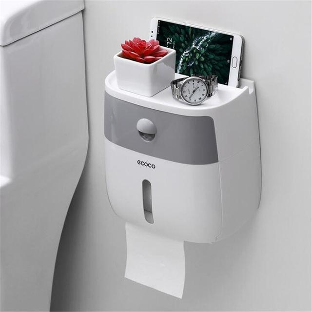 EcoSpense - Automatic Toilet Paper Dispenser