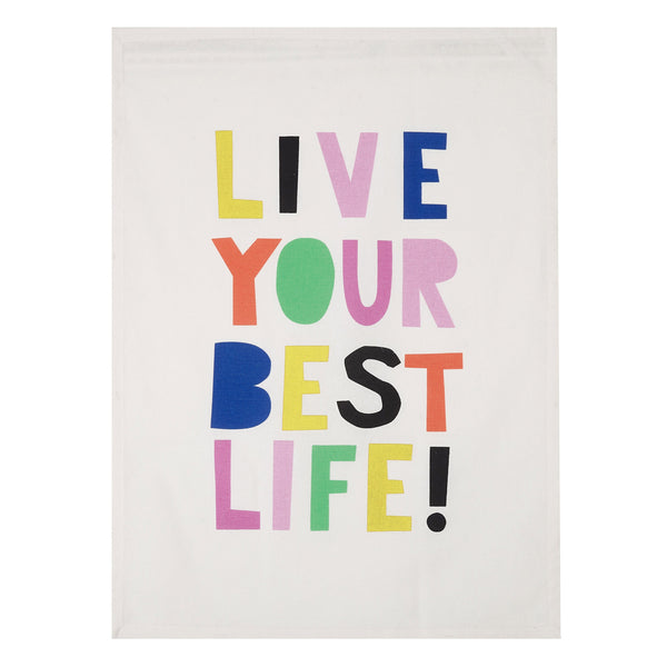 Live Your Best Life Kitchen Towel