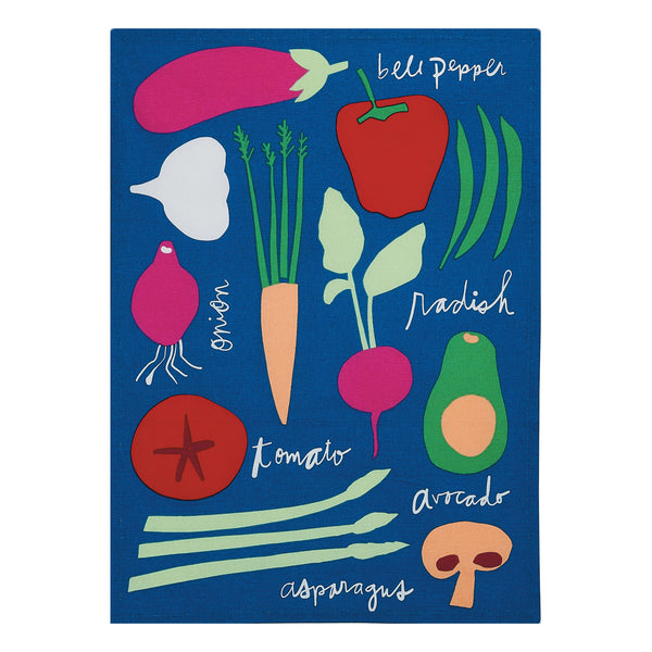 Veggies Kitchen Towel