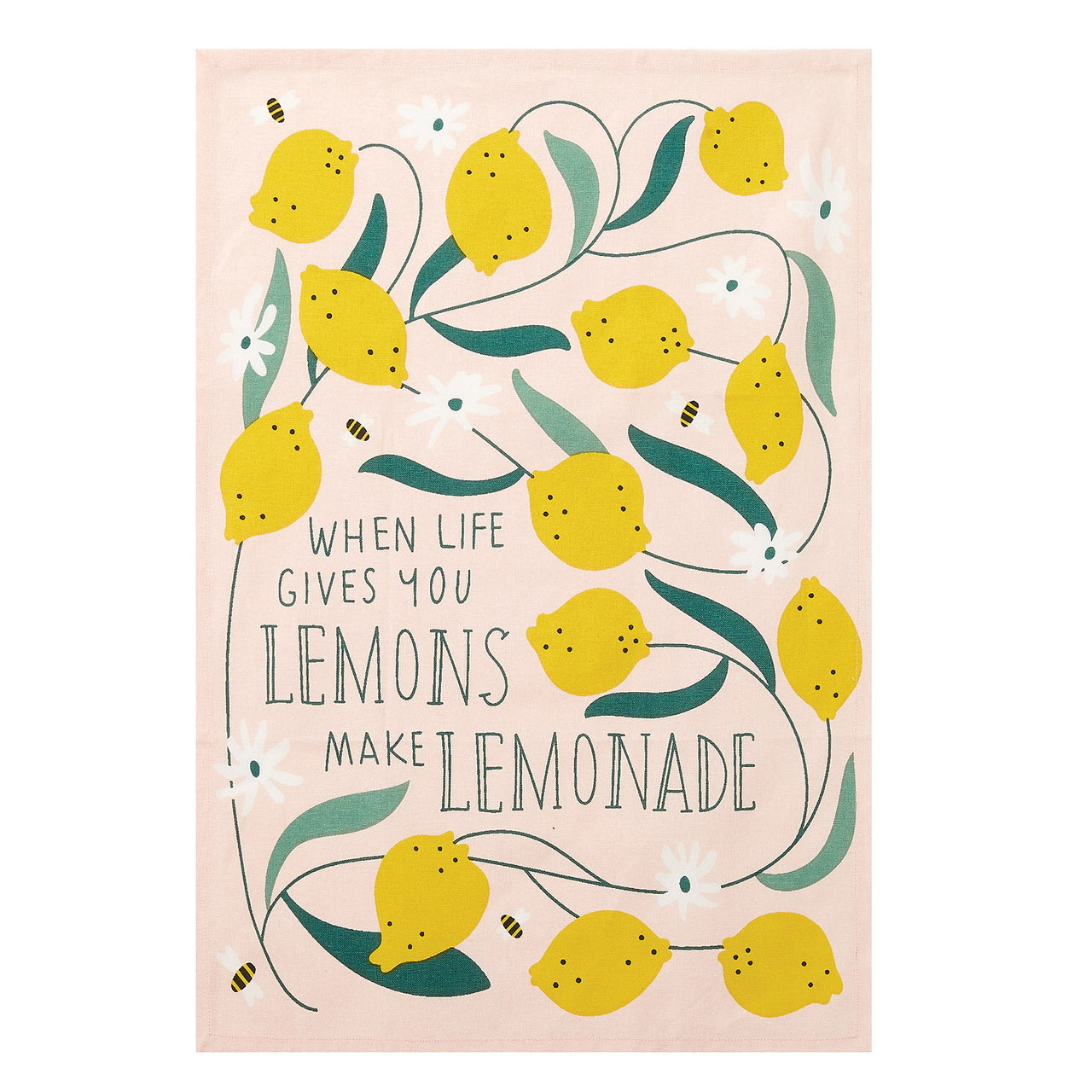 Make Lemonade Kitchen Towel