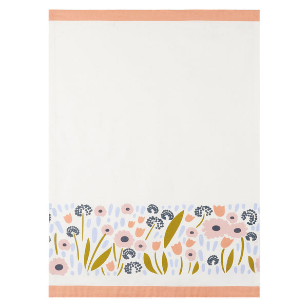 Floral Recollection I Kitchen Towel