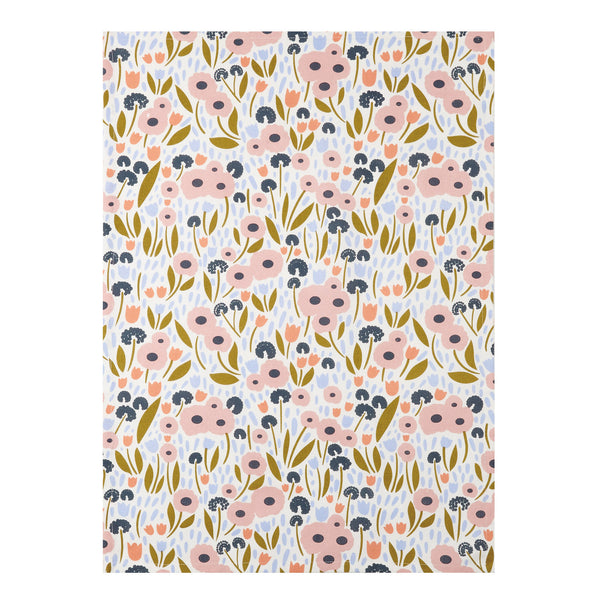 Floral Recollection Ii  Kitchen Towel