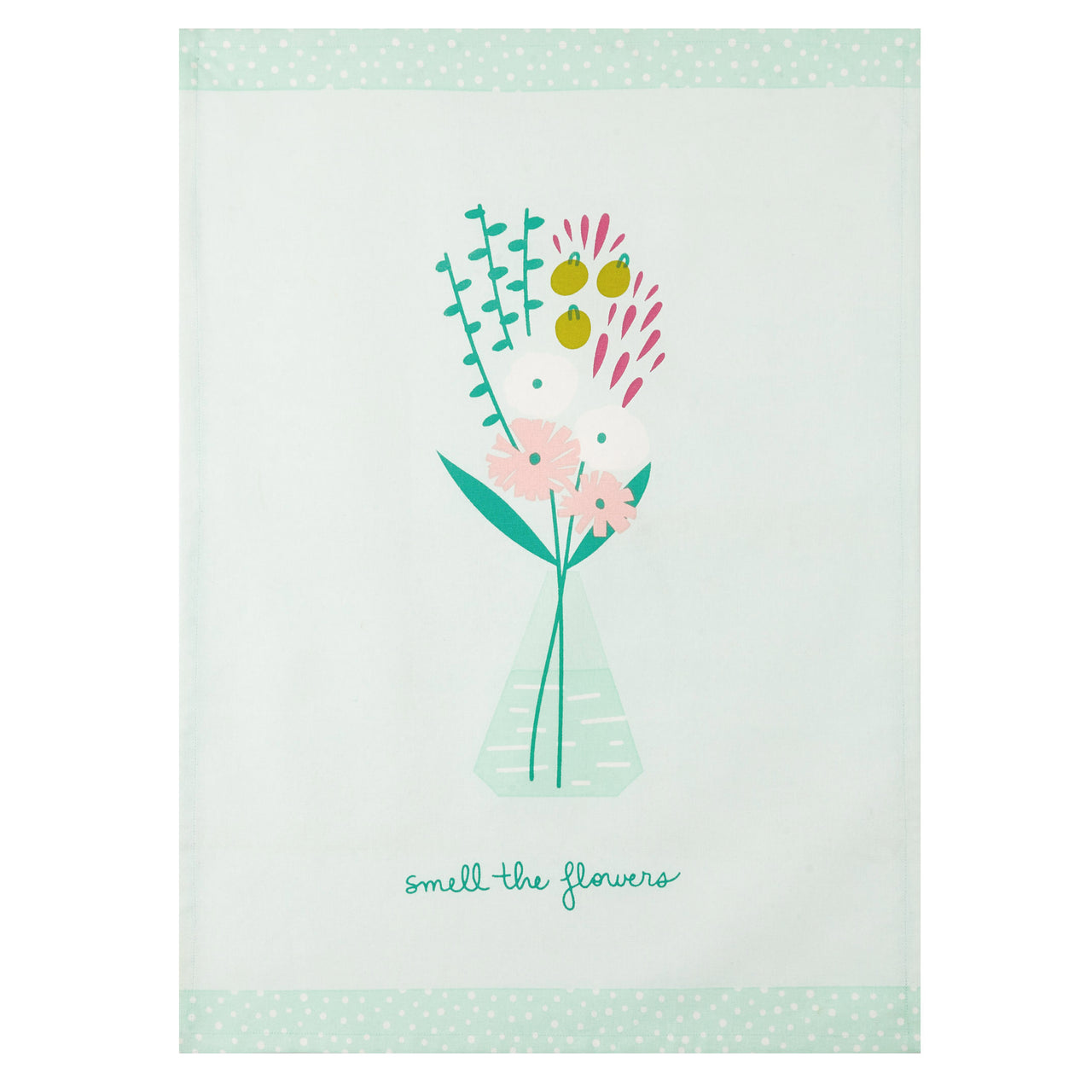 Pretty Posies  Kitchen Towel