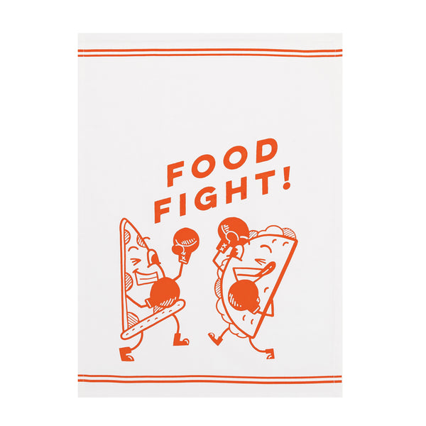 Food Fight Kitchen Towel