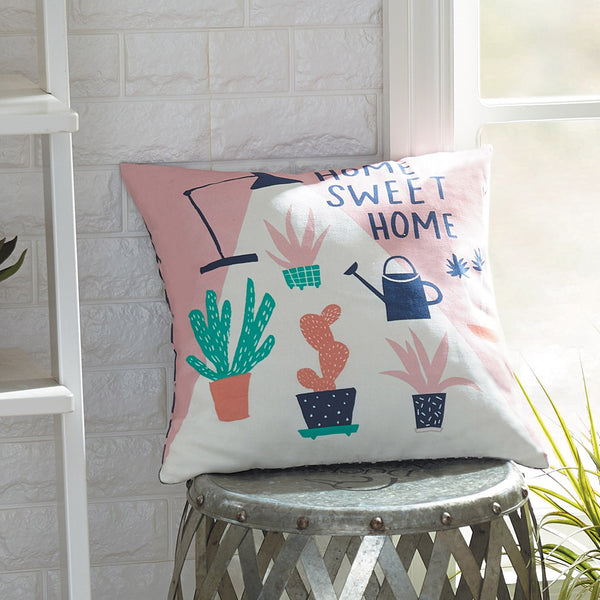 Home Sweet Home Printed Pillow