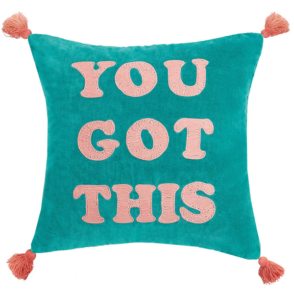 YOU GOT THIS Motivation Quote Home Throw Pillow