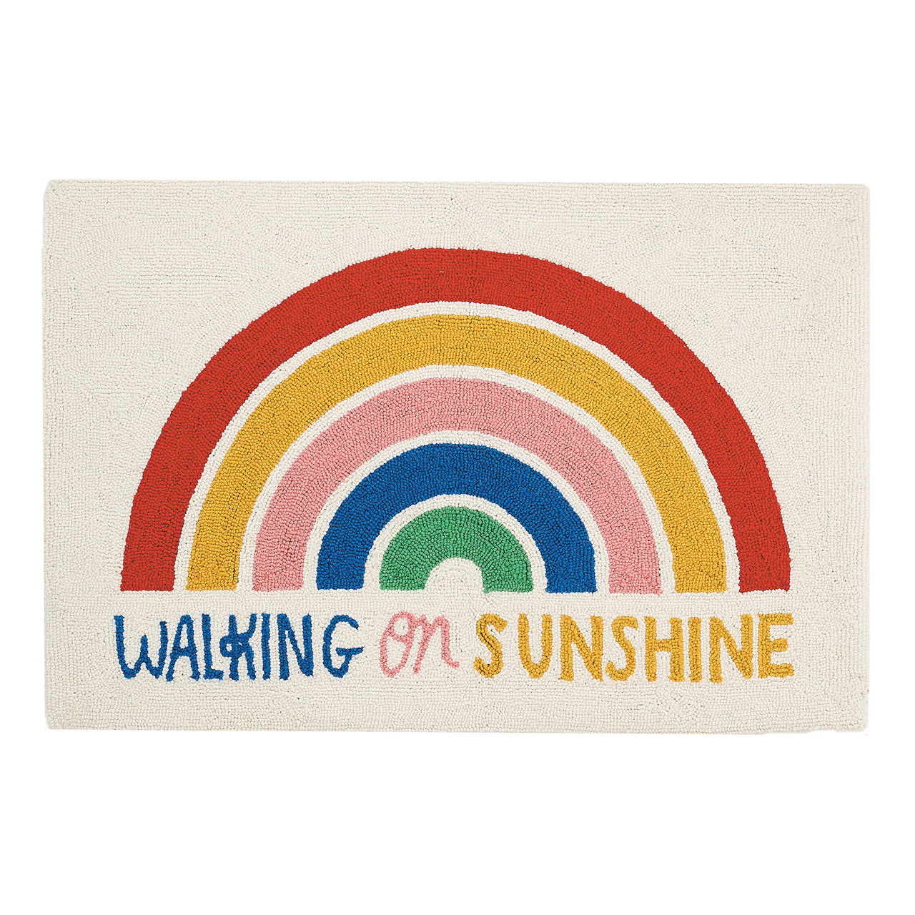 Walking On Sunshine Accent Rug