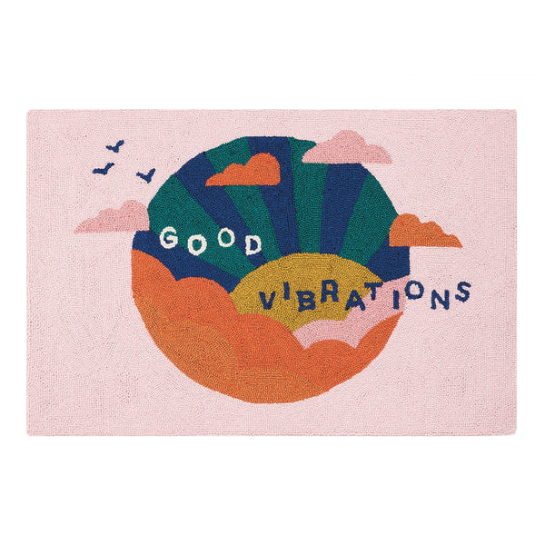 Good Vibrations Accent Rug
