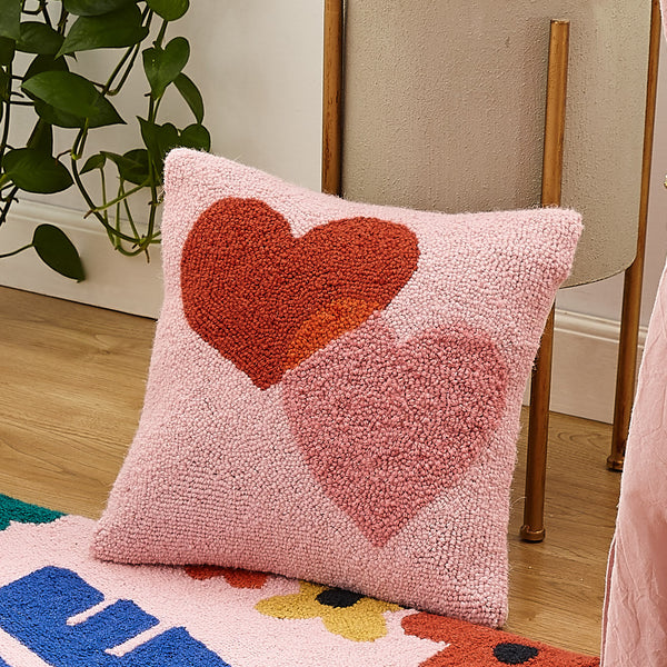 Heart Connection Throw Pillow