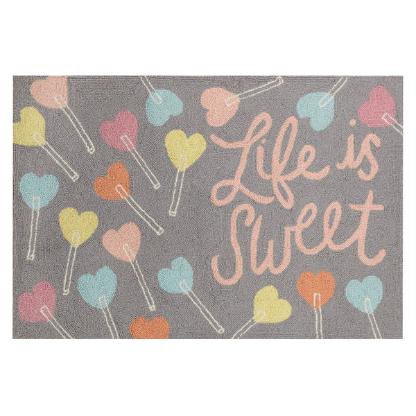 Life Is Sweet Accent Rug