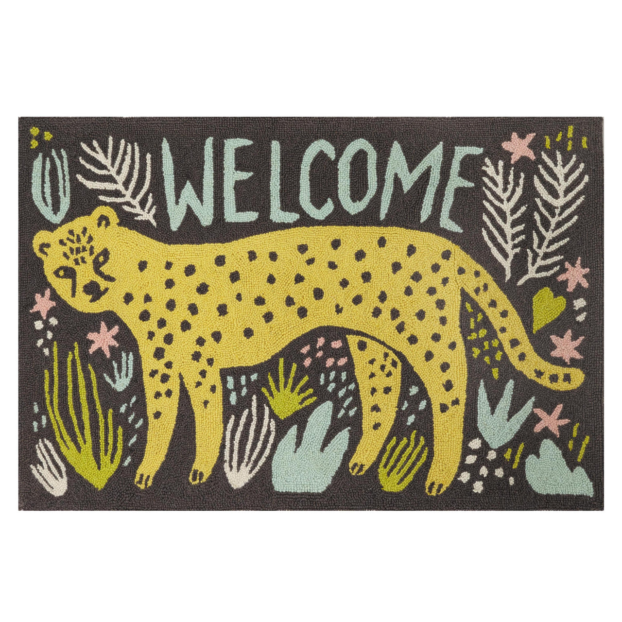 Welcome Cheetah Accent Rug
