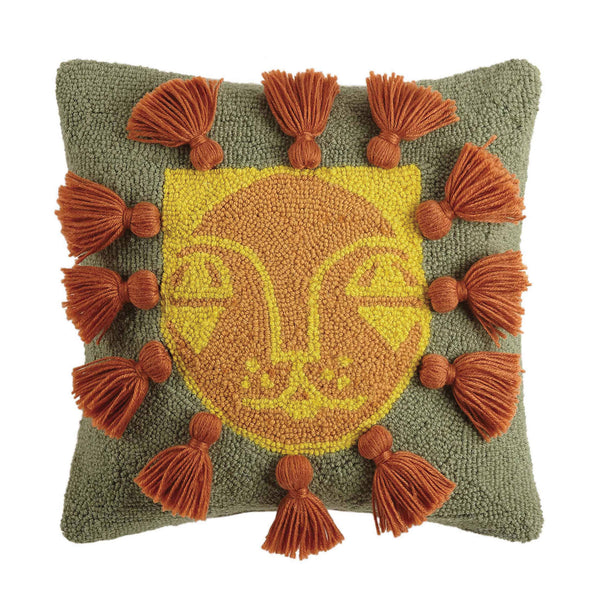 Leo with Tassels Hook Pillow