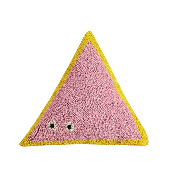 Triangle Friend Throw Pillow