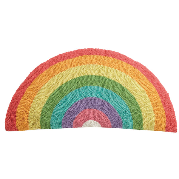 Rainbow Shaped Throw Pillow