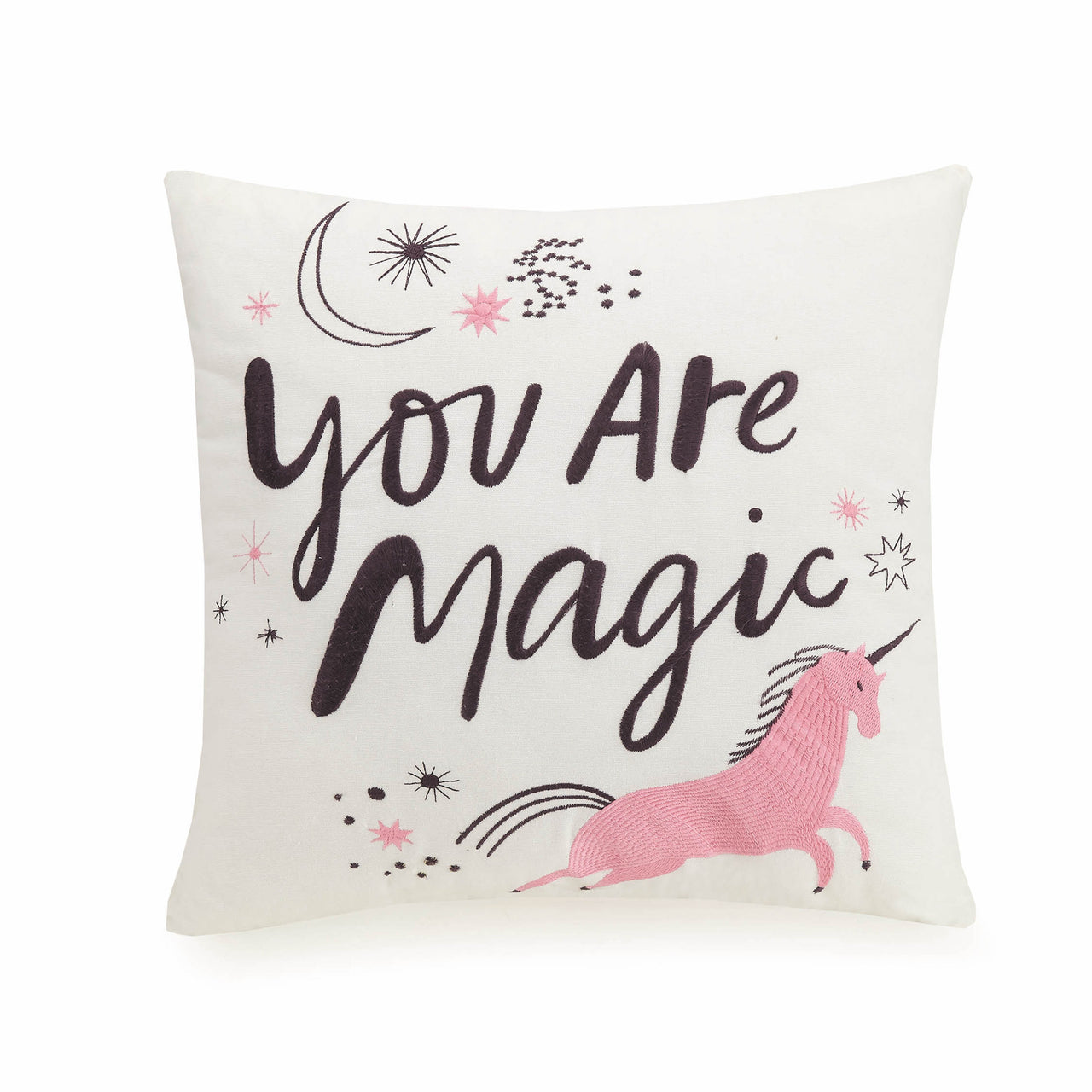 Magic Embroidered Pillow