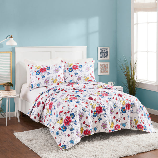 Flower Patch Quilt Set