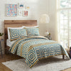 Hypnotic Blue Quilt Set