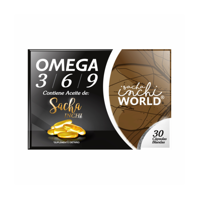 OMEGA 3 6 9 DE SACHA INCHI 30 SOFTGELS