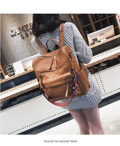 Midnight Moon - Women's Luxury Retro Large Rucksack
