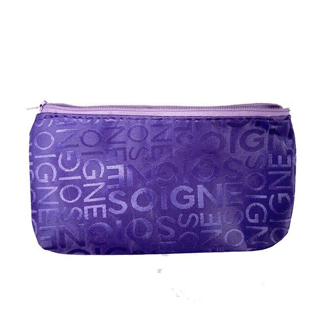 Cute Multi function Beauty Zipper Travel Cosmetic Bag for women