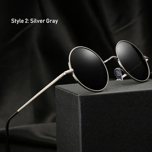 Hey Joe - Retro Classic Vintage Round Polarized Sunglasses for Men
