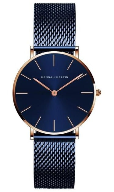 Hannah Martin - Women Stainless Rose Gold luxury Watch