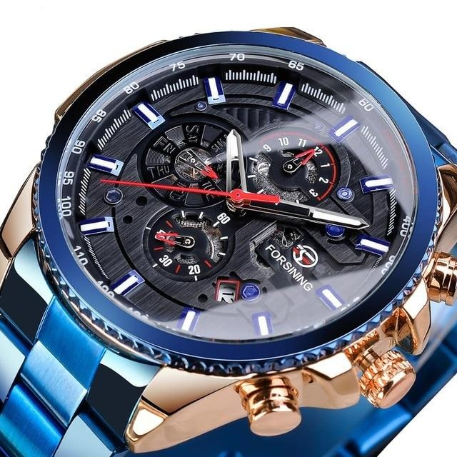 Forsining 2020 Men's Chronograph Sport Watch