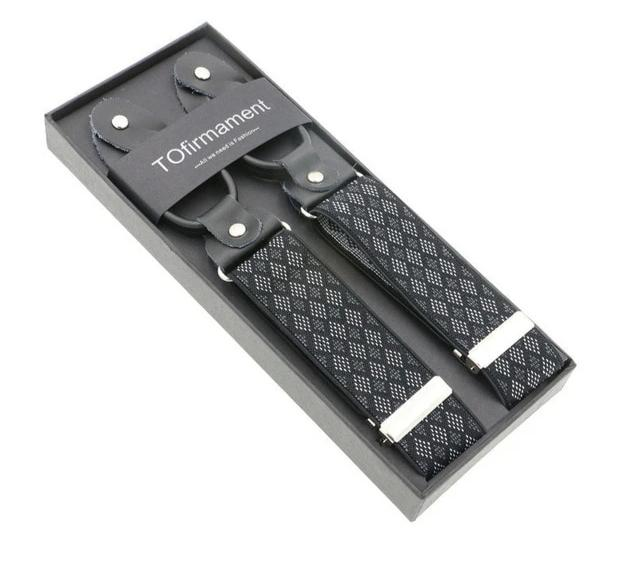 New Man's Classic 6 Button Suspenders