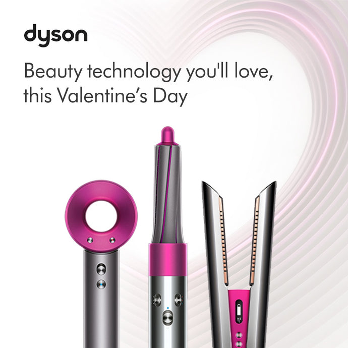 Love is in the Air: Dyson airflow technology  delivers the look of love this Valentine's