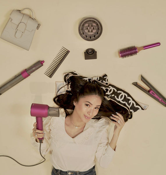 Introducing, Dyson's ultimate hair care trio.