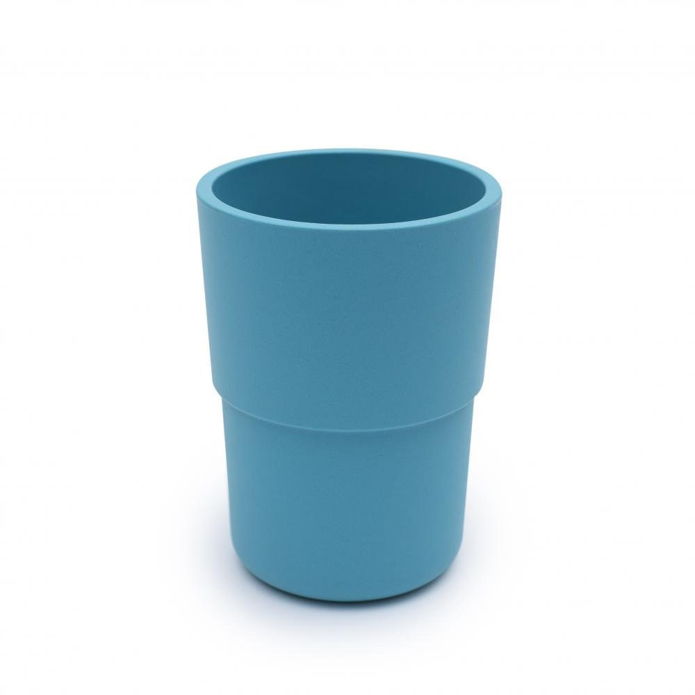 bobo&boo Plant-Based Cup – Individual - Blue-Lunchbox Mini