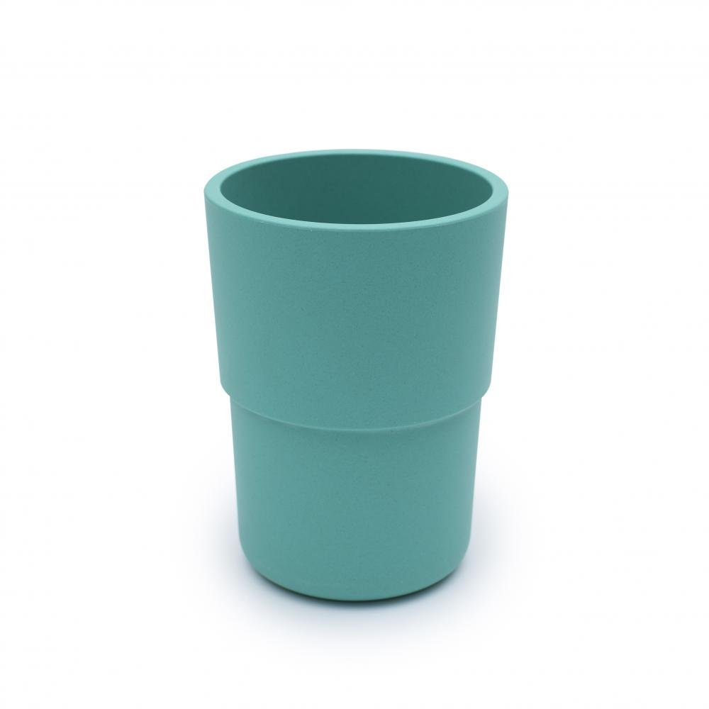 bobo&boo Plant-Based Cup – Individual - Green-Lunchbox Mini
