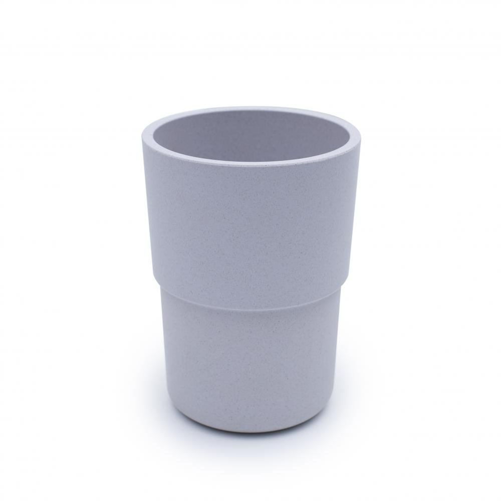bobo&boo Plant-Based Cup – Individual - Grey-Lunchbox Mini