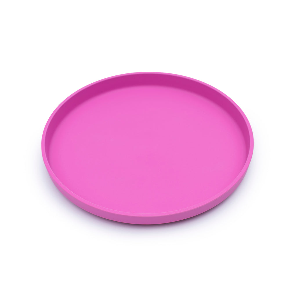 bobo&boo Plant-Based Plate – Individual - Pink