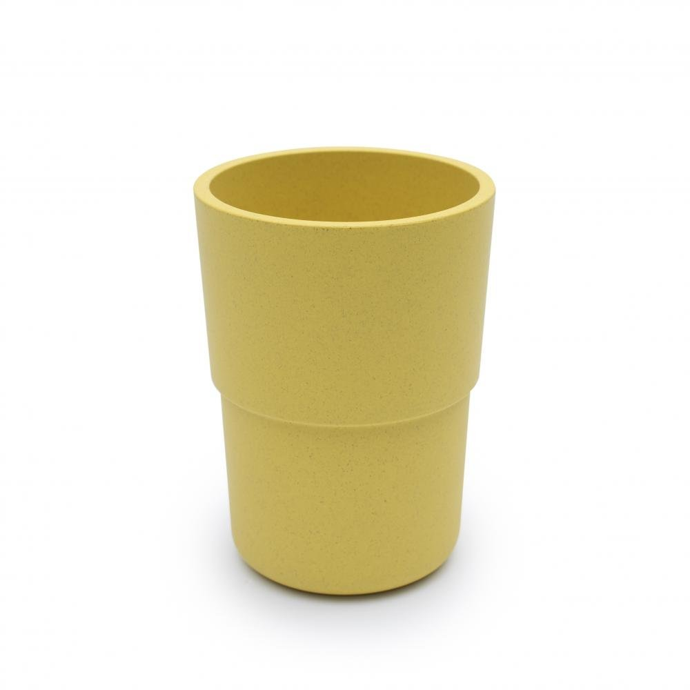bobo&boo Plant-Based Cup – Individual - Yellow-Lunchbox Mini