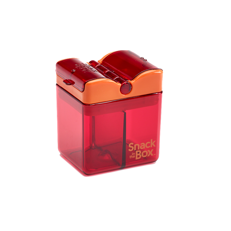 Snack in the Box - New Design - Red-Lunchbox-Lunchbox Mini