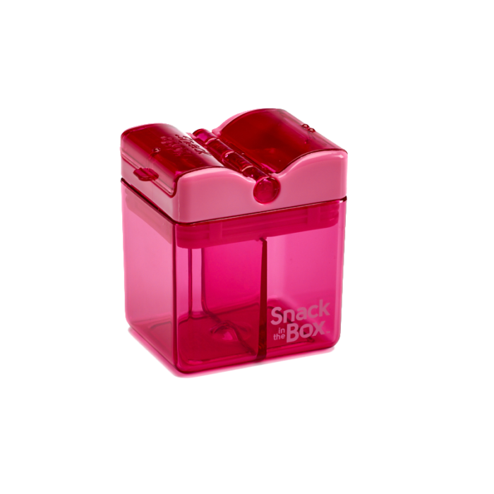 Snack in the Box - New Design - Pink-Lunchbox-Lunchbox Mini