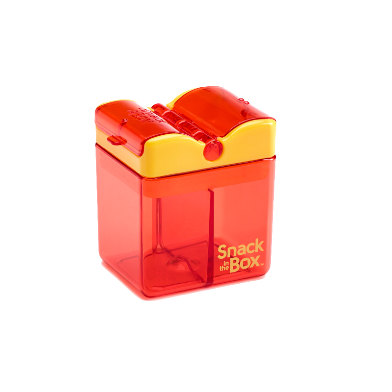 Snack in the Box - New Design - Orange-Lunchbox-Lunchbox Mini