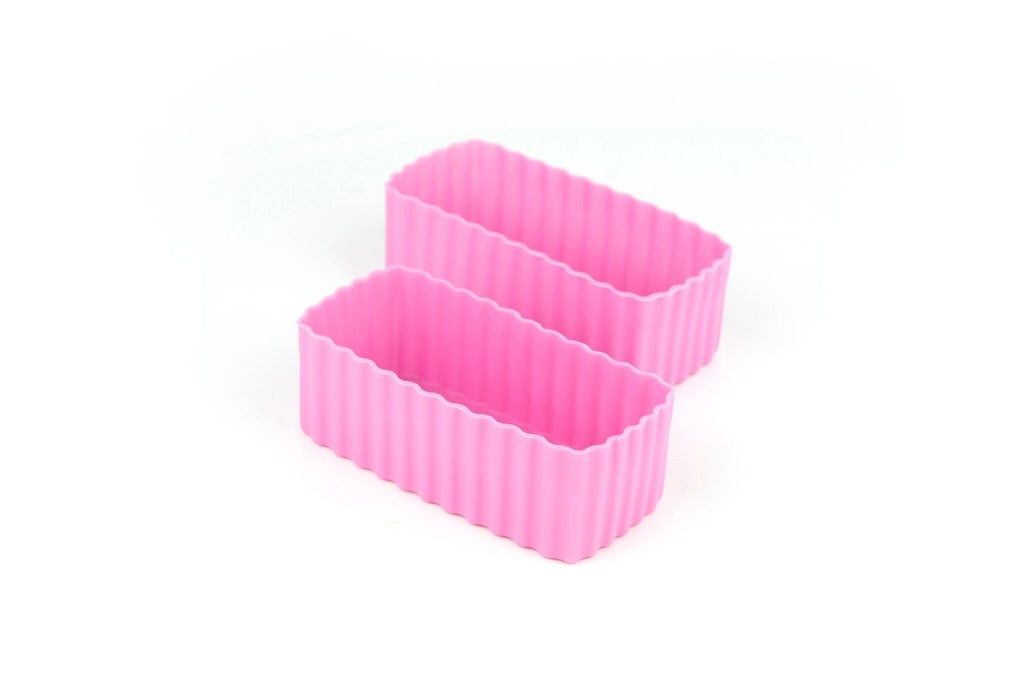Bento Cups Rectangle - Pink