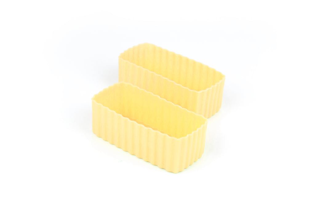 Bento Cups Rectangle - Yellow