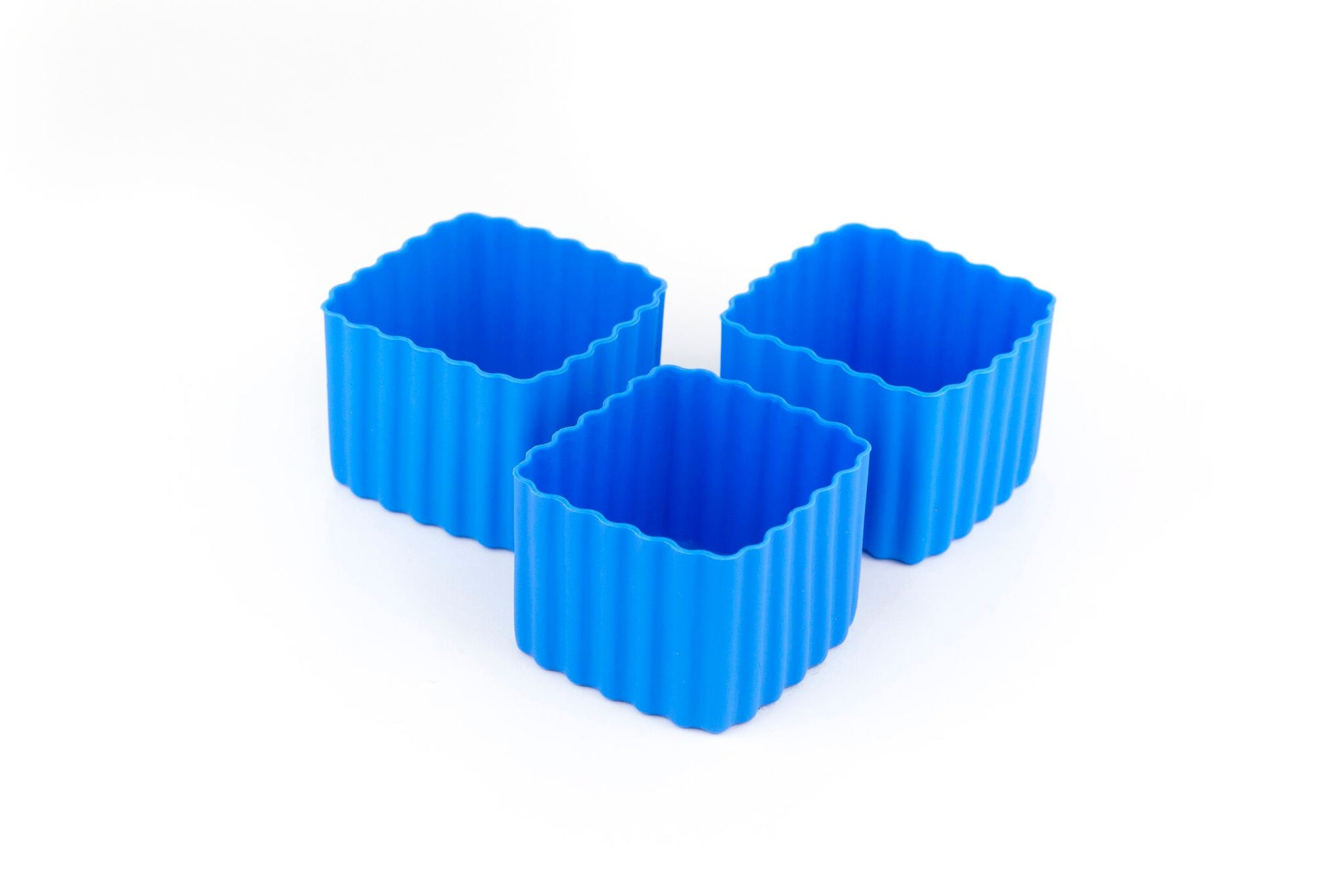 Bento Cups Square - Blue - Pre-Orders OPEN!-Silicone Cups-Lunchbox Mini