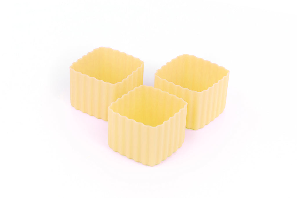 Bento Cups Square - Yellow