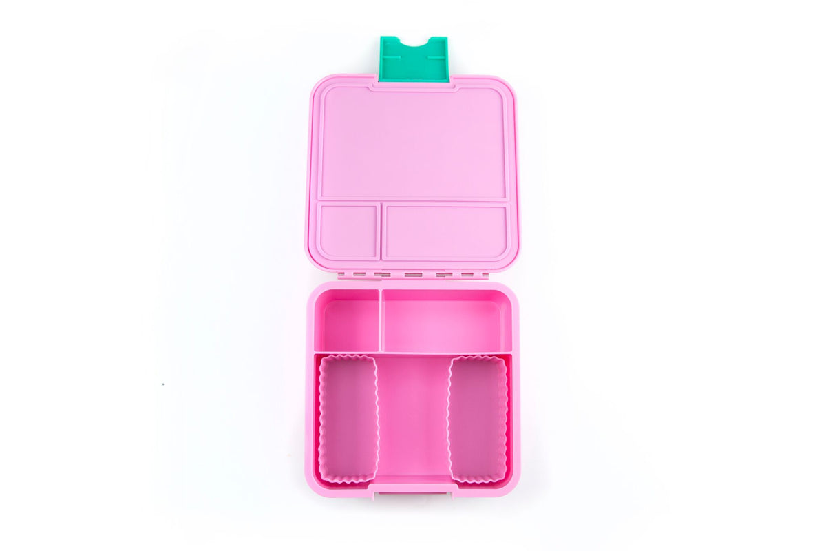Bento Cups Rectangle - Pink - Pre-Orders OPEN!-Silicone Cups-Lunchbox Mini